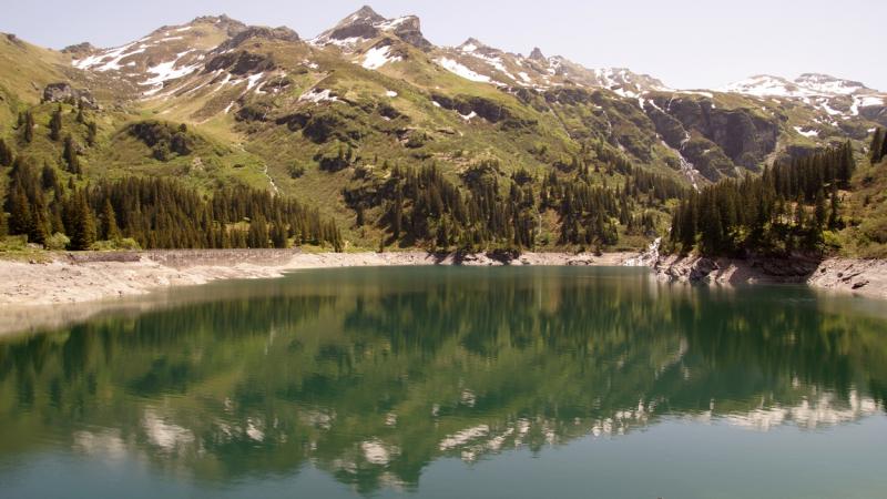 Швейцария 2014. Вильдкирхли, озеро Гарихти, ледник Гласьер 3000