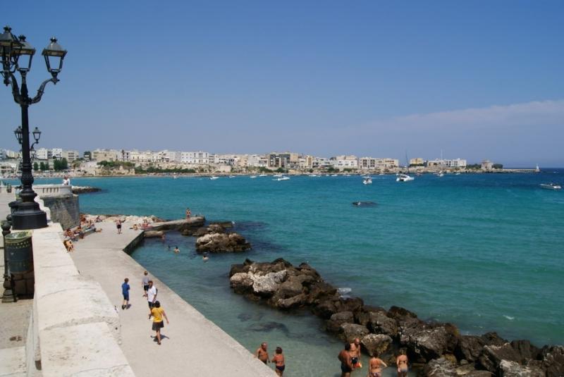 Апулия образца лета 2020. Пляжи и города.