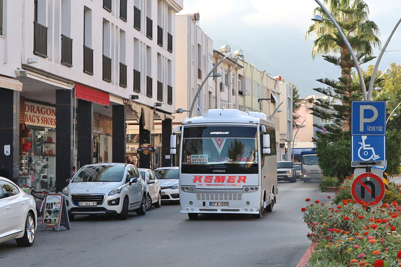 Автобусное сообщение в Турции