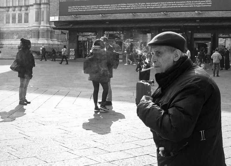 Ранняя Итальянская весна 2020. Города и люди.