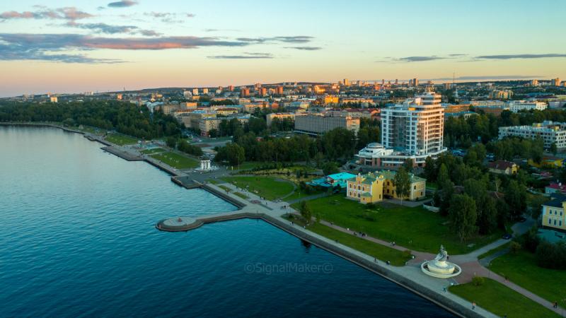 Карелия, (а также Вологодчина, Ленинградчина, Новгородчина и Селигерщина) август 2020. Вид сверху