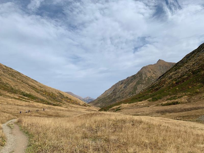 Путешествие в горы Красной поляны. Неделя на Розе Плато и прогулки по окресностям, октябрь 2020.
