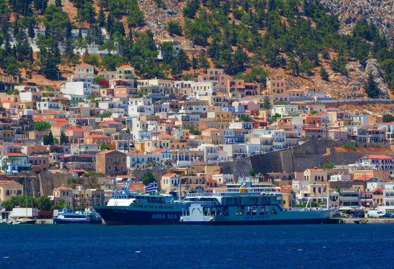 Додеканес: Калимнос, Лерос, Патмос, Кос