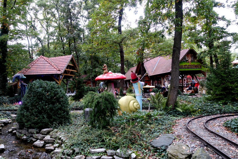 Family Park - самый большой парк развлечений в Австрии