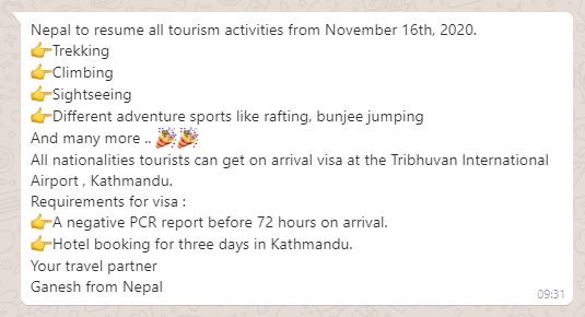 Как сейчас попасть в Непал