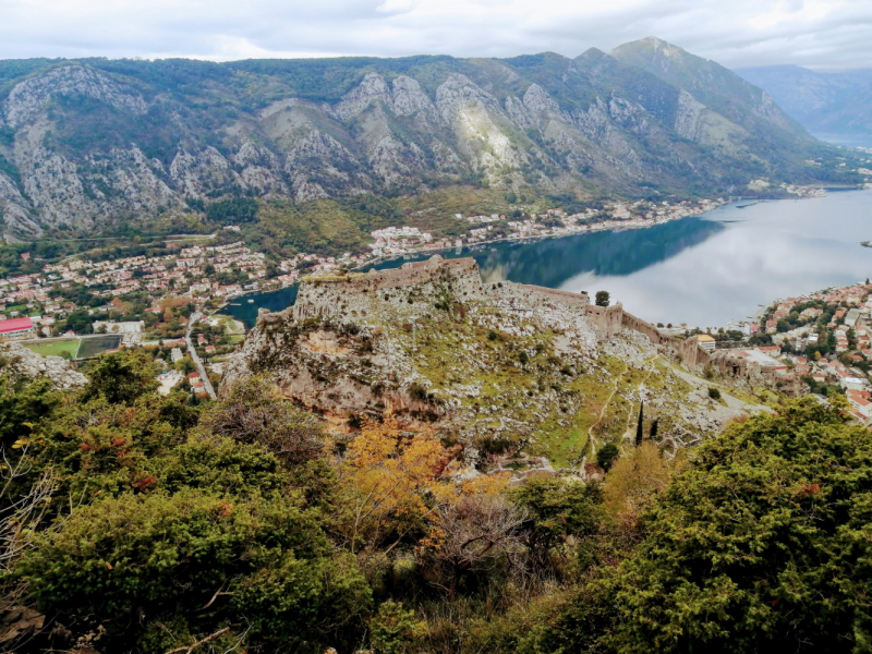 """Под """"короной"""" в Черногории, или самый короткий Путь (октябрь 2020)"""