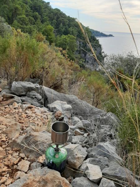 Ликийская тропа западная, соло-поход, девушка с палаткой 2020