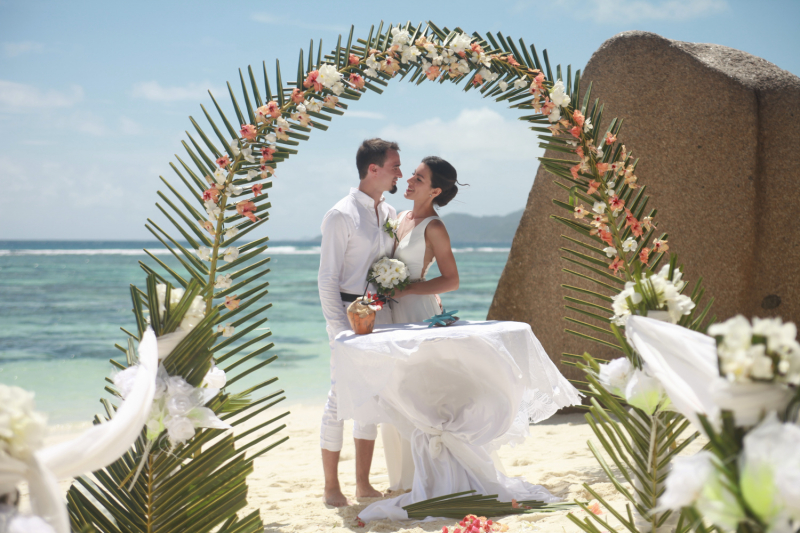 Свадьба на Сейшелах, октябрь 2019 года. Союз, заключенный в раю