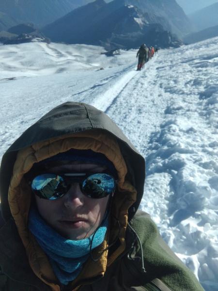 Эльбрус, восхождение с юга