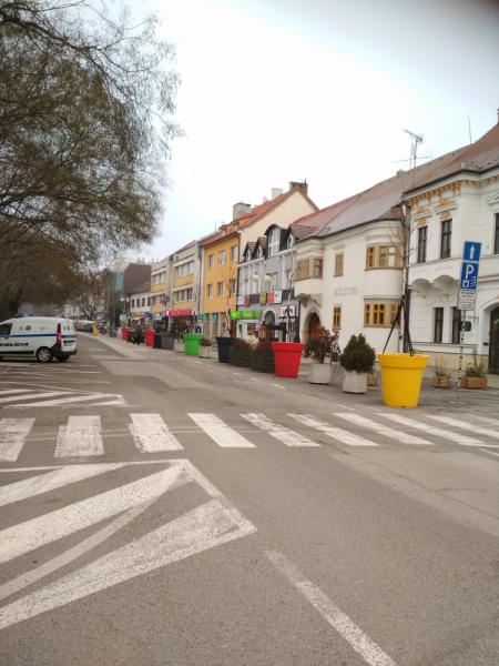 Под Братиславой и далее