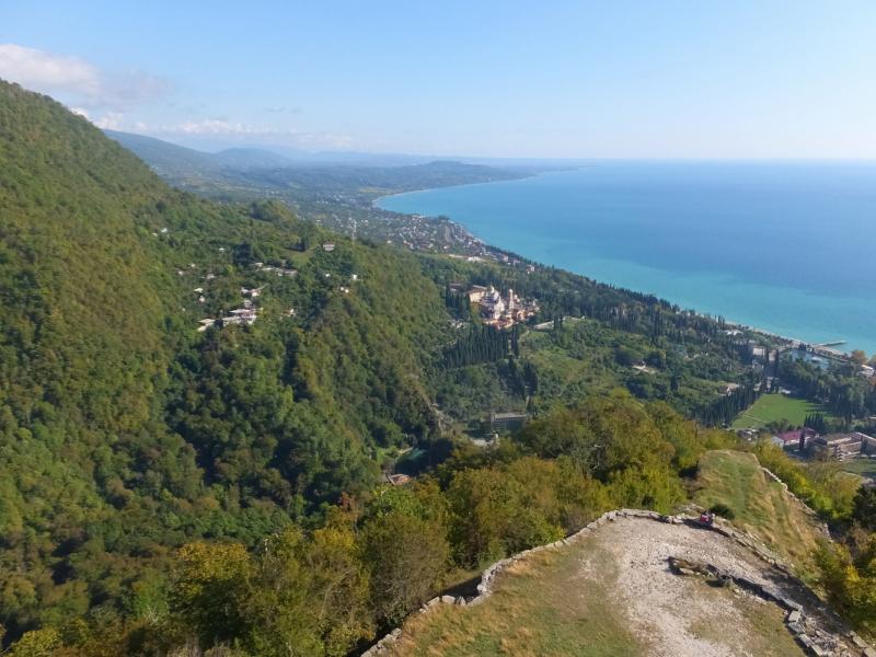 Три дня в Абхазии на прокатном автомобиле