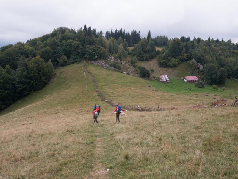 Траверс хребта Фагараш(август 2018)