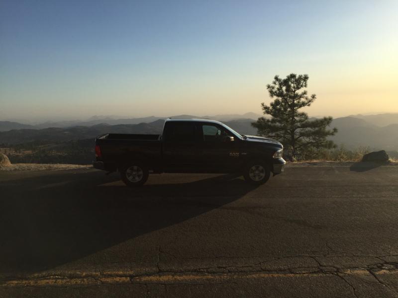Вперёд к мечте - на машине в Йеллоустоун из ЛА, практический отчёт