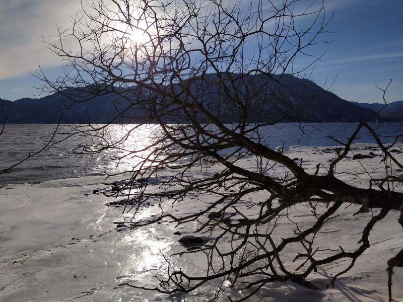 Ледовые приключения на Телецком озере. Артыбаш-Иогач-Яйлю. Новогодние каникулы 2021.