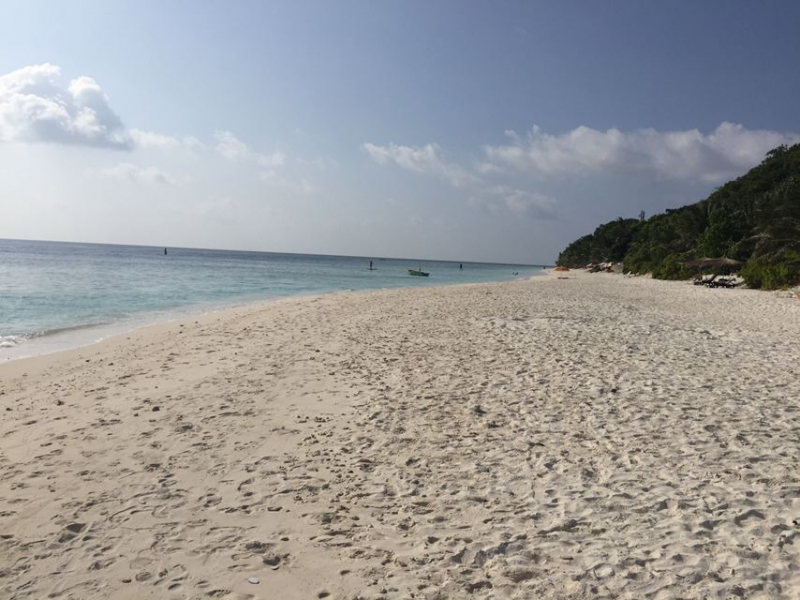 о. Ukulhas, гестхаус Beach Veli, февраль-март 2021