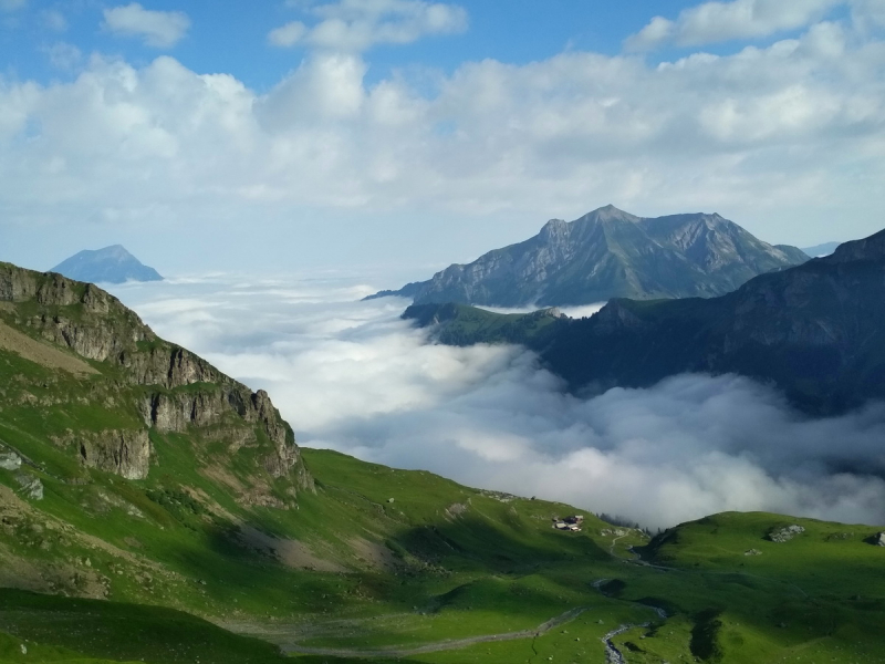 Via Alpina. Неделя  в Швейцарских Альпах. Пешком, бюджетно. Июль 2019 г.