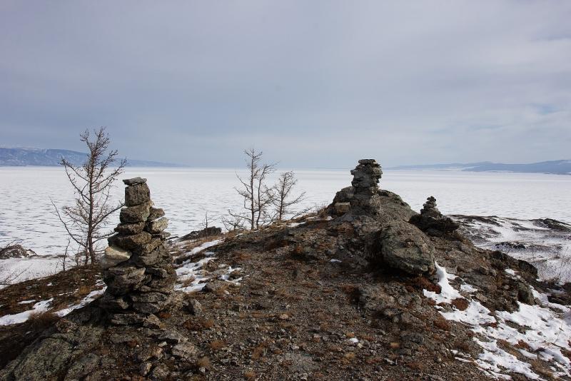 Голубой лёд Байкала 2021. Комбинированное одиночное путешествие