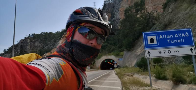 "Турция на велосипеде. Апрель 2021. Манавгат-Кемер. ""Ковидом тут и не пахнет""."