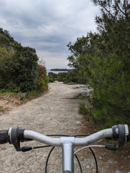 Истрия на велосипеде, апрель 2021