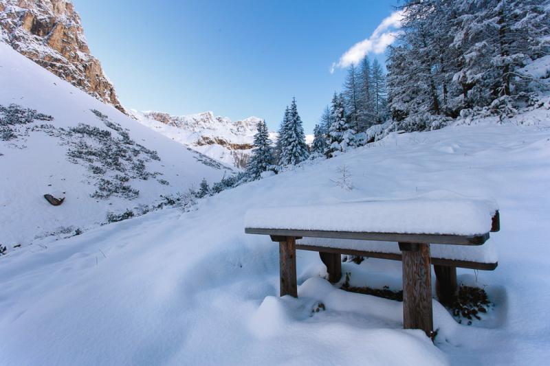 Знакомство с Доломитами или мой первый поход по Доломитовым Альпам. (Ноябрь 2014 года)