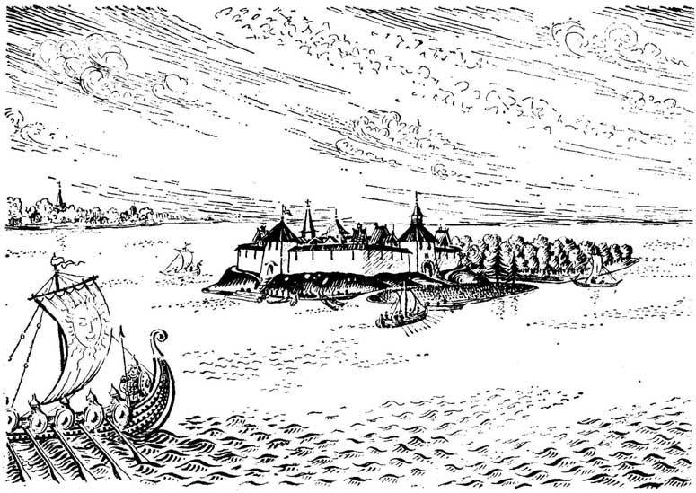 Шлиссельбург. Маленький камешек в водовороте истории.