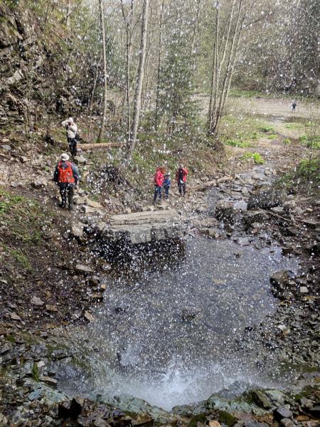 Украина. Водопады и тюльпаны Прикарпаття