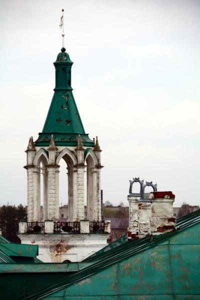 Ростов и Переславль-Залесский в дождь и снег. Апрель 2021