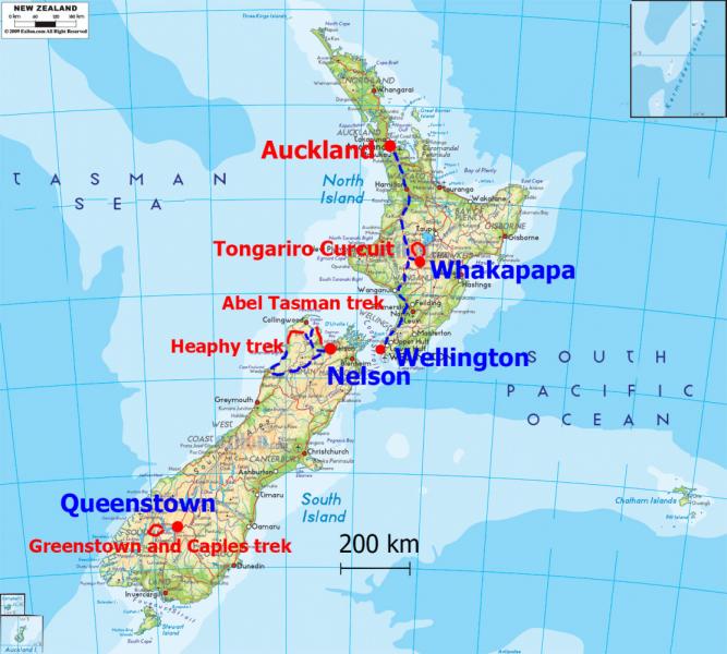 Новая Зеландия: 4 трека и еще 3 месяца  (февраль-июнь 2020г.)