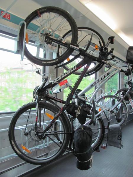 Романтическая дорога на велосипеде май 2012 года
