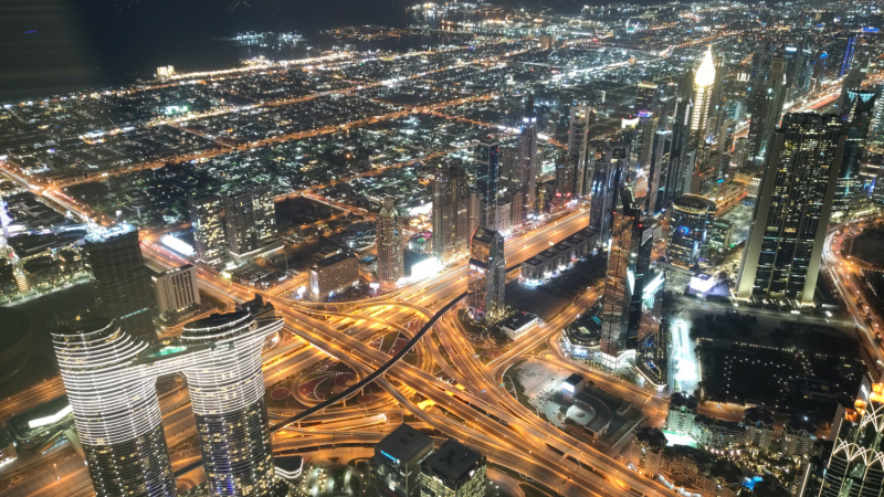 ОАЭ с Дальнего Востока в апреле 2021