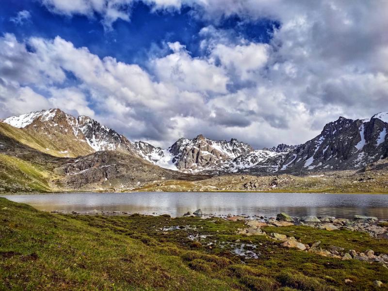 Кыргызстан - AK SUU TRANSVERSE TREK - Одиночный хайкинг, июнь 2021