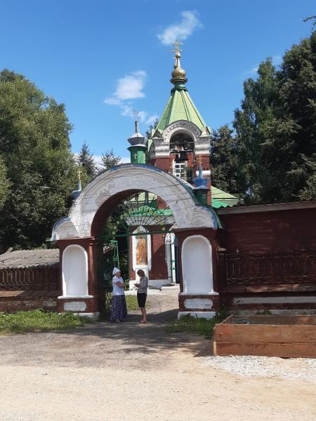 Кашин и Калязин в июле 2021 г.