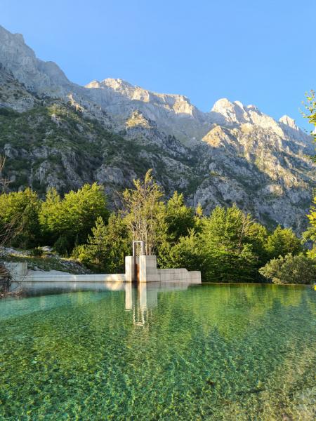 Албания, август 2021, от перевала Вальбона-Тети до Ксамила за неделю.