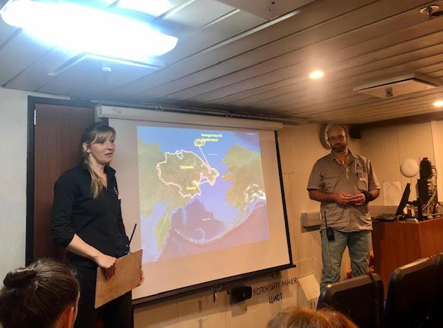 Круиз из Анадыря на остров Врангеля, август 2021