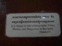 Flamingos Hotel, Phnom Penh, Cambodia