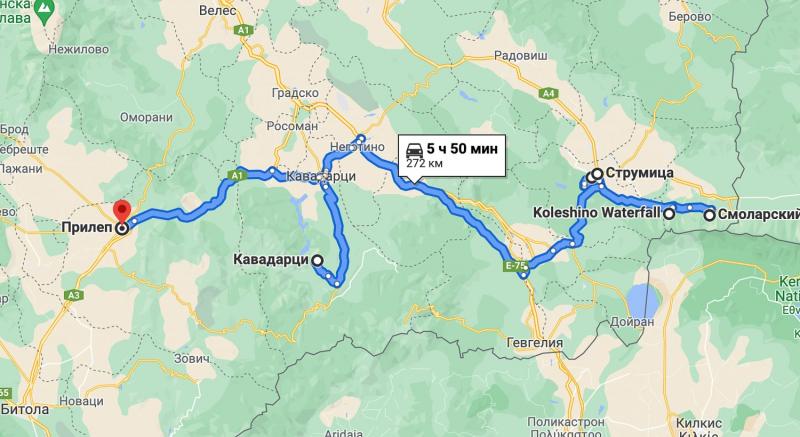 11 дней по Македонии - сентябрь 2021