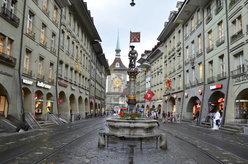 Немое путешествие в Швейцарию