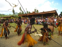 Как фестивалят в Папуа Новой Гвинее