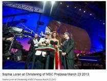 Ознакомительный круиз на праздничной MSC Preziosa: Средиземноморье, март 2013