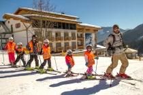 Горные лыжи с 2 дошкольниками (22.02.2013 – 09.03.2013)