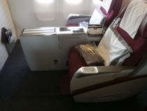 Бизнес/первый класс Qatar airways на маршруте CAI-BKK