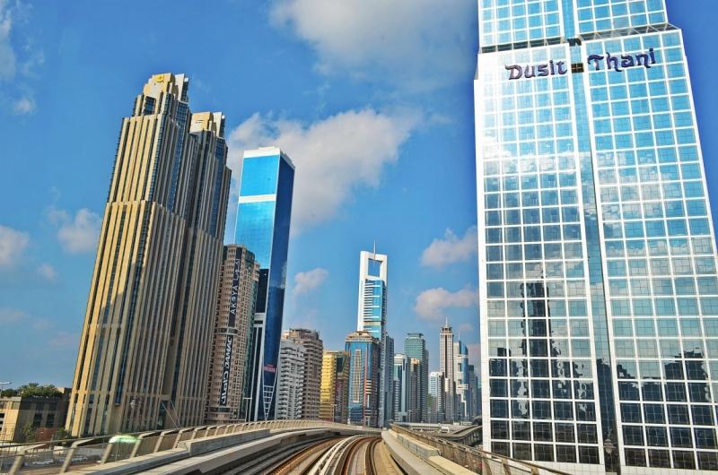 Дубаи и Абу Даби в январе. 2014