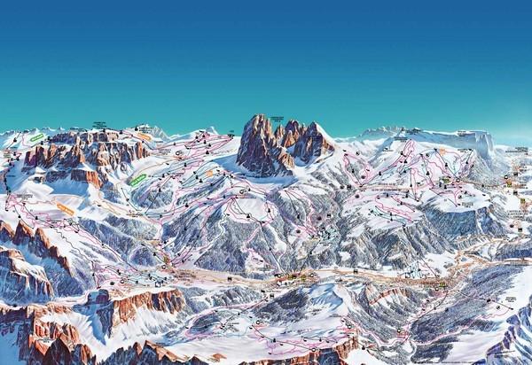 Покатушки в Доломитовых Альпах Италии+Венеция (февраль2014).Сравнение Сельвы с Майрхофеном