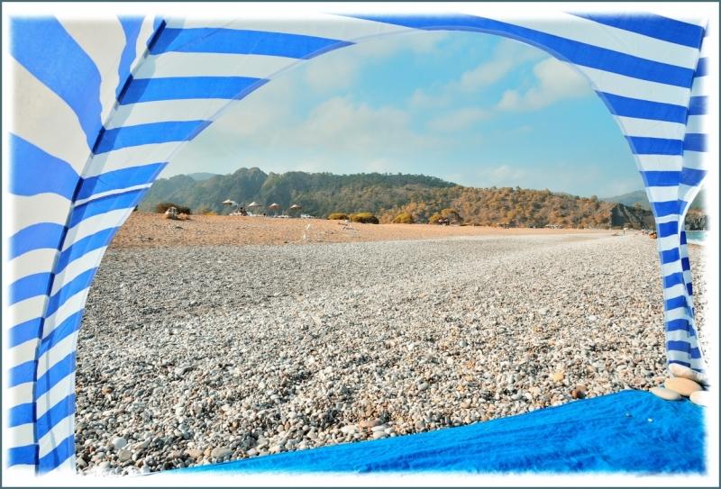 Лёвкины каникулы на море, сентябрь, Чиралы, Турция.