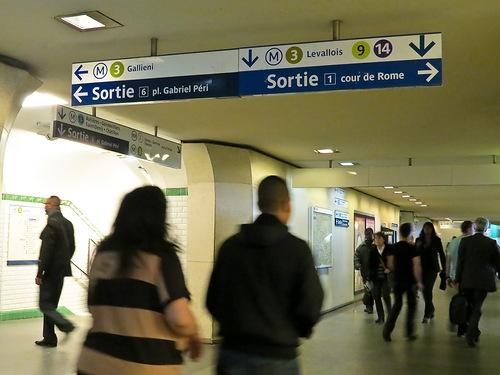 Париж все об общественном транспорте - шпаргалка