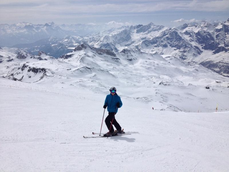 Отчет. Горные лыжи в Червинии и Церматте (Швейцария)