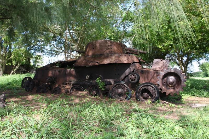 Танковое море Сайпана