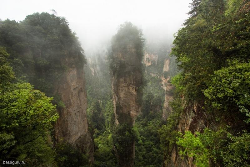 Путешествие на скалы Аватара, экстрим