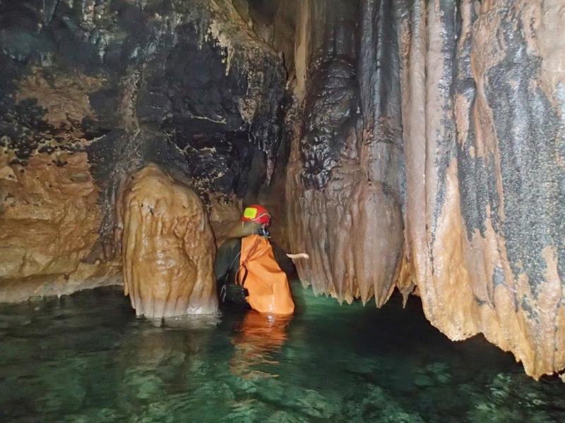 Экстремальный маршрут по пещере Красной (Кизил -Коба)