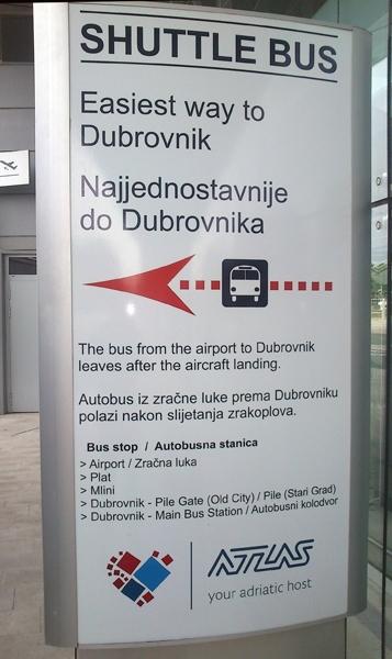Дубровник: из аэропорта (DBV) в город и наоборот